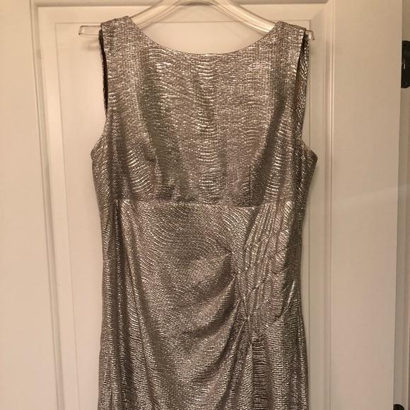Blu Sage Dresses & Skirts - Formal metallic dress
